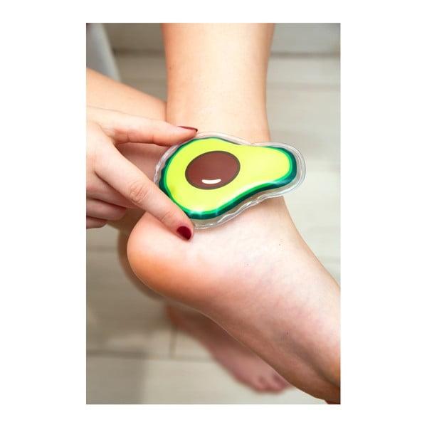 Chladící / Ohřívací polštářek ve tvaru avokáda Kikkerland Fruits