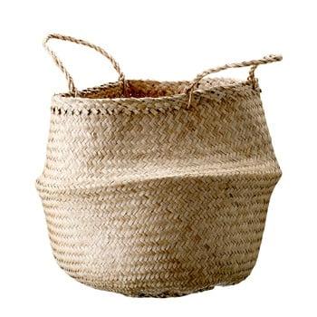 Coș de depozitare din iarbă de mare Bloomingville Basket, ø 40 cm