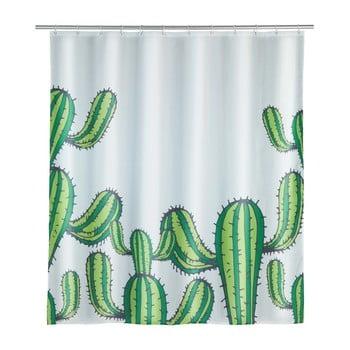 Perdea duș Wenko Cactus, 180 x 200 cm imagine