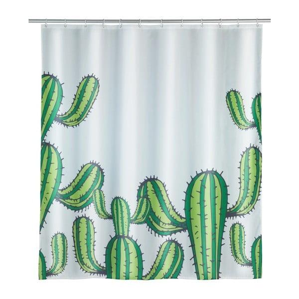 Cactus zuhanyfüggöny, 180 x 200 cm - Wenko