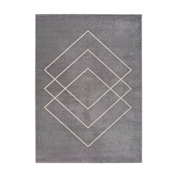 Koberec ve stříbrné barvě Universal Breda, 250 x 67 cm