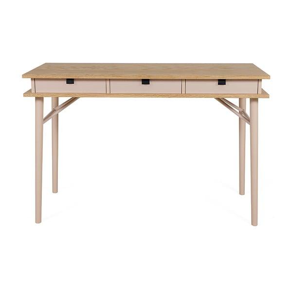 Birou de perete cu sertare Woodman Solo Desk