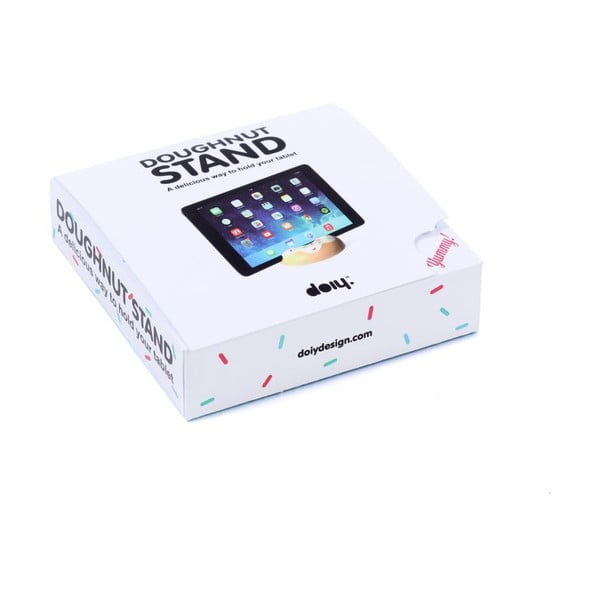Stojánek na iPad DOIY Doughnut White