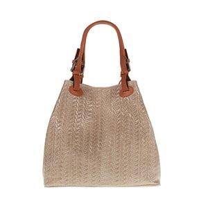 Béžová kabelka Pitti Bags Helen