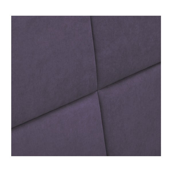 Levandulově fialové čelo postele HARPER MAISON Gala, 140 x 120 cm