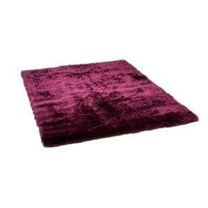 Tmavě červený koberec Cotex Flush, 70 x 140 cm