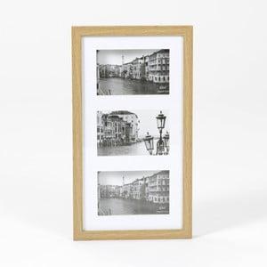 Dřevěný rám na 3 fotky Amadeus Aperture