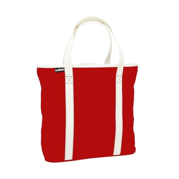 Plátěná taška Patt Bag, červená