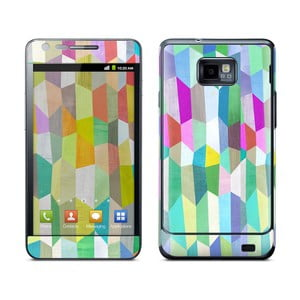 Samolepka na Samsung S II, Trapezoid Love