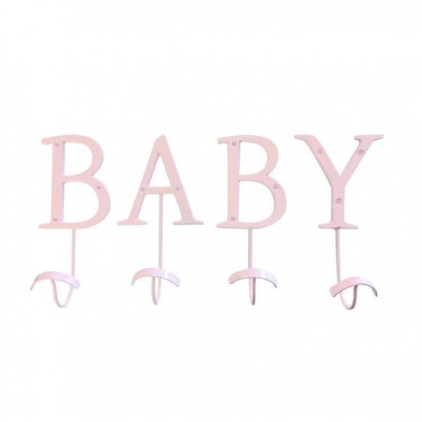 Dekorativní   věšák Baby Pink