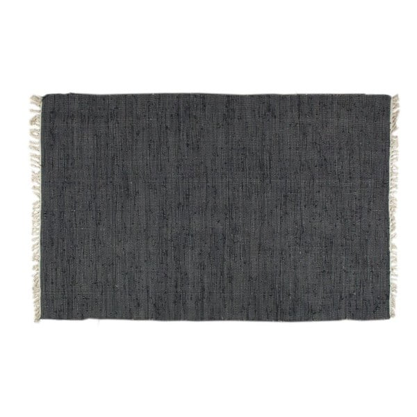 Koberec Plain Black, 80x150 cm