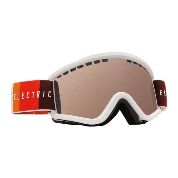 Dětské lyžařské brýle Electric EGVK Orange Blast White - Bronze, vel. S