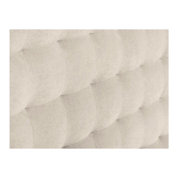Krémové čelo postele Windsor & Co Sofas Nova, 140 x 120 cm