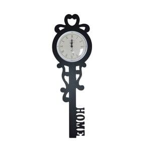 Nástěnné hodiny Ewax Key, 17 x 53 cm