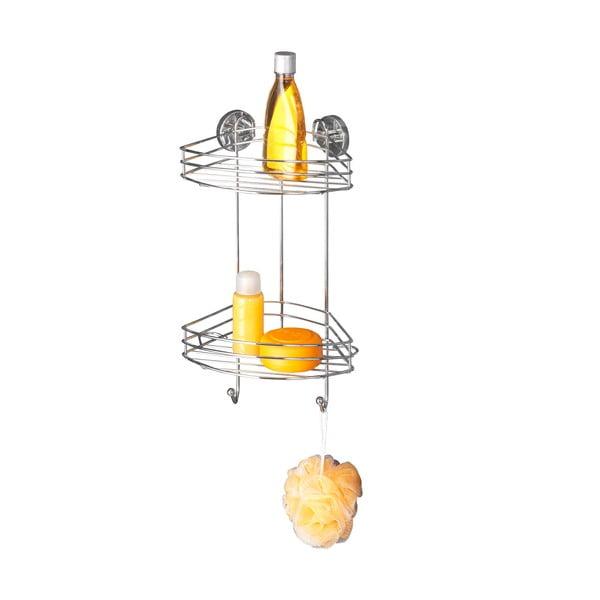 Vacuum-Loc kétszintes öntapadós sarokpolc, max. 33 kg - Wenko