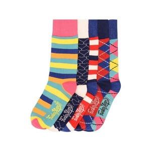 Sada 5 párů barevných ponožek Funky Steps Kristen, vel. 35-39