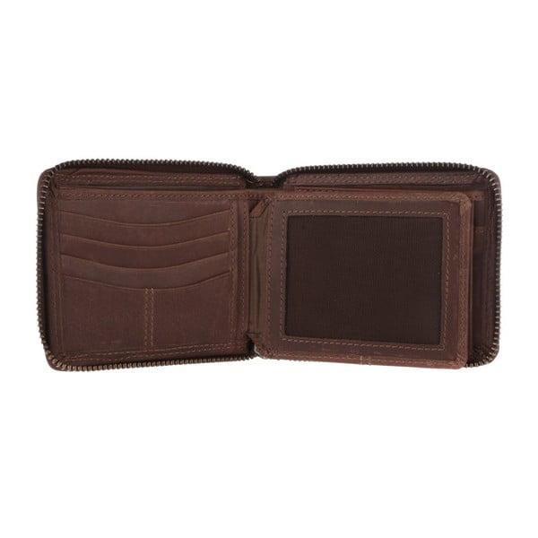 Kožená peněženka Chief Conker Brown