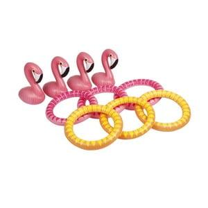 Hra házení kroužků Sunnylife Flamingo