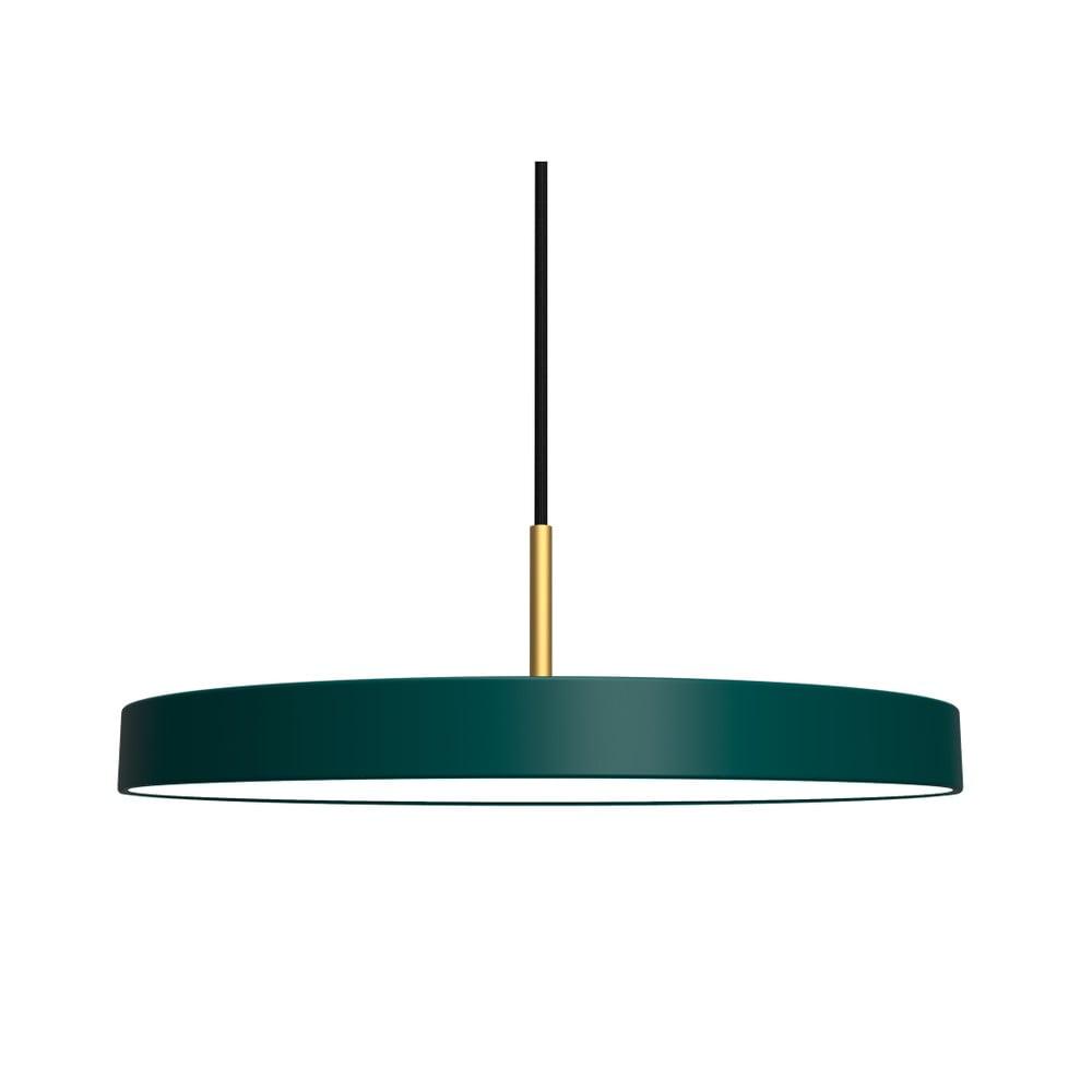Zelené závěsné svítidlo VITA Copenhagen Asteria, Ø43cm