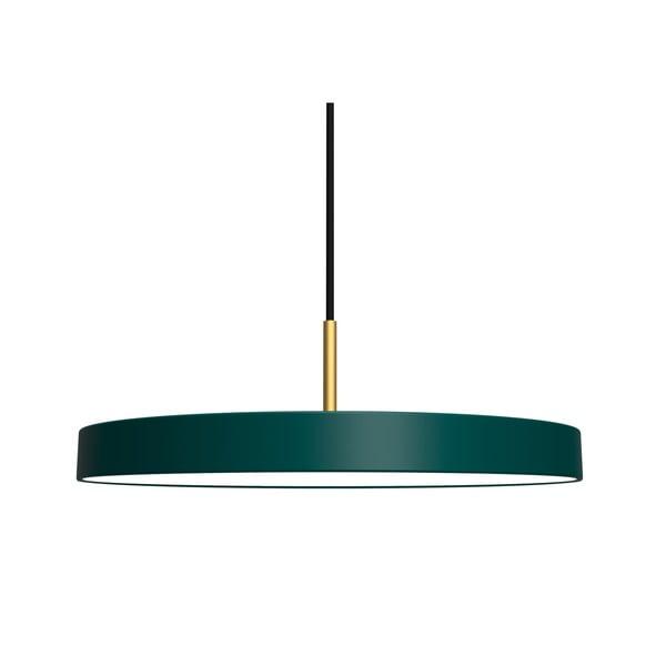Zelené závěsné svítidlo VITA Copenhagen Asteria, ⌀43cm