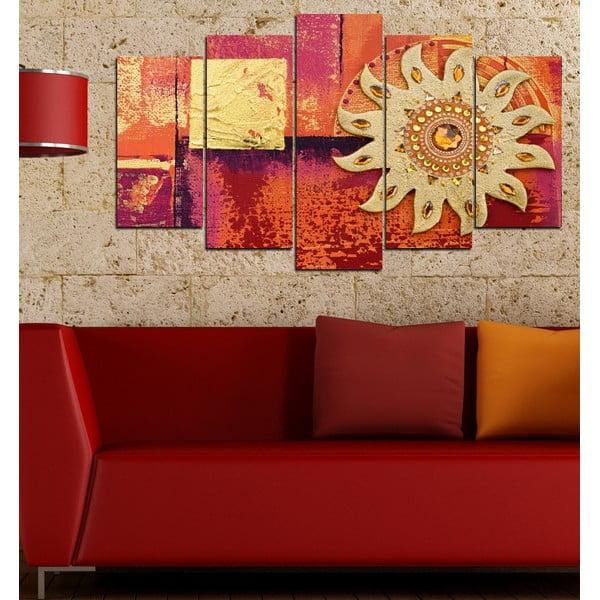 5dílný obraz Třpytivé slunce