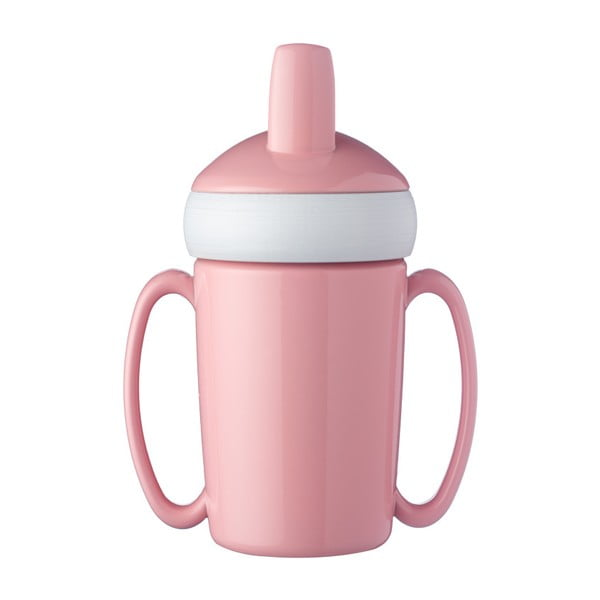 Sticlă pentru copii Rosti Mepal Trainer Mug, roz