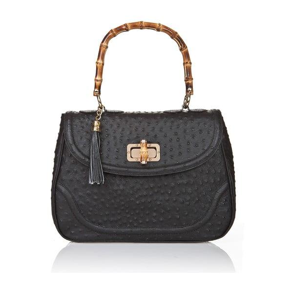 Kožená kabelka Markese 7022 Black