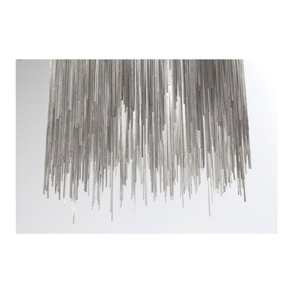 Lustră cu LED Kare Design Fallen Chains Round, argintiu