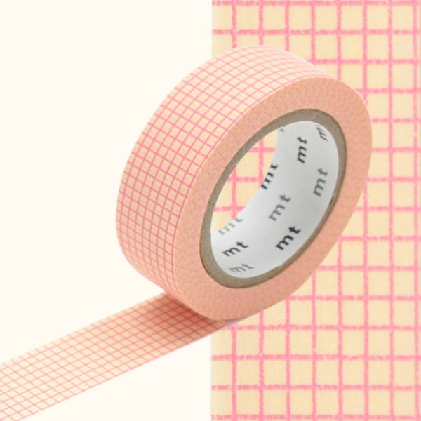 Bandă decorativă Washi MT Masking Tape Riva, rolă 10 m