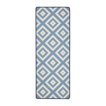 Covor de bucătărie Zala Living LoopDiamond, 67 x 180cm, albastru