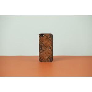 Dřevěný obal na iPhone 4 Maiolica, black