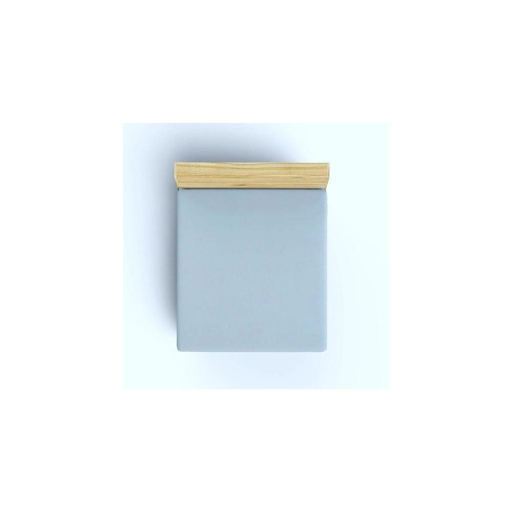 Bavlněné prostěradlo Grey, 180x200cm