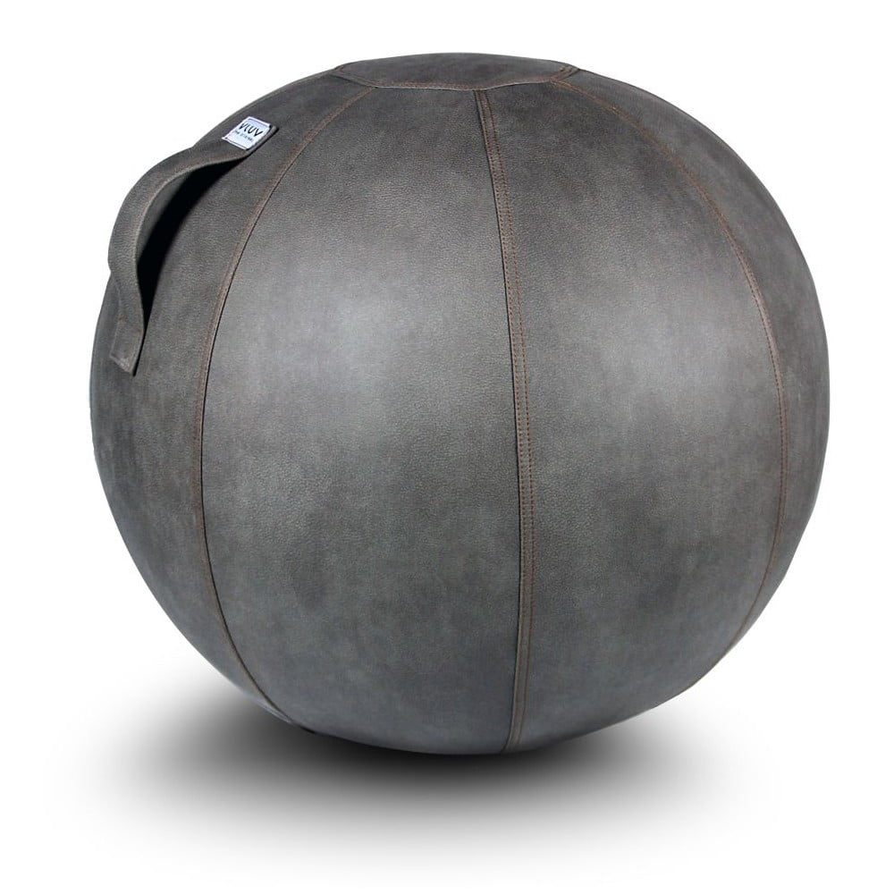 Šedý sedací míč VLUV, 65 cm