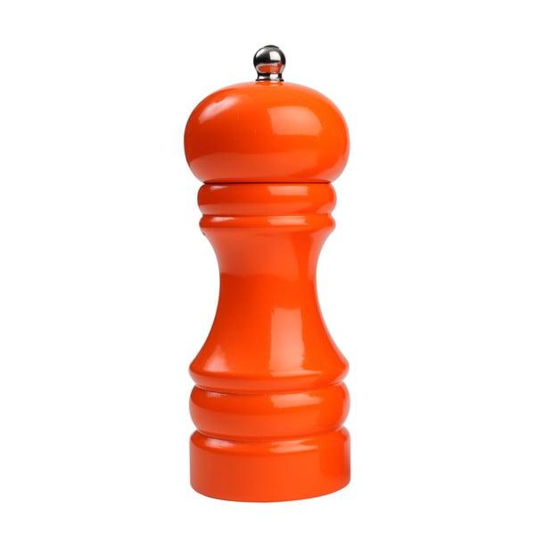 Mlýnek na pepř z kaučukovníku T&G Woodware Hevea Orange, 16 cm