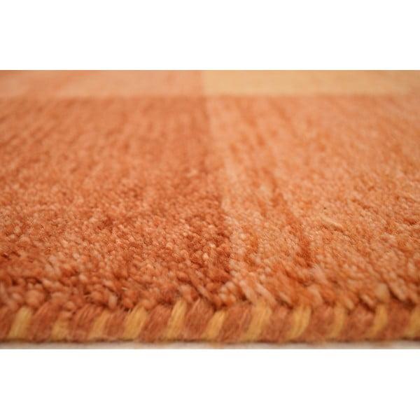 Vlněný koberec Baku Box Terra, 70x140 cm
