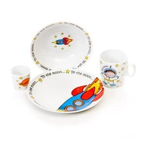 Dětská jídelní sada Spaceman
