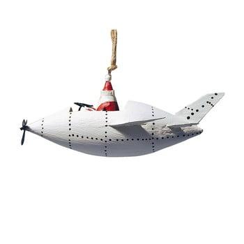 Decorațiune suspendată pentru Crăciun G-Bork Santa in Zeppeliner imagine