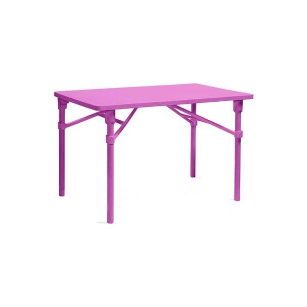 Skládací stůl Zic Purple, růžová
