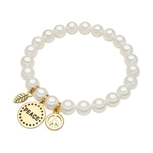Perlový náramek Perldesse Loi, perla 0,8cm
