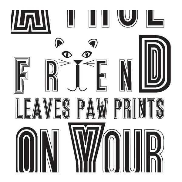Plakát Karin Åkesson Design Cat Friend, 30x40 cm