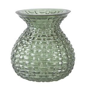 Zelená váza KJ Collection Florista, 23 cm