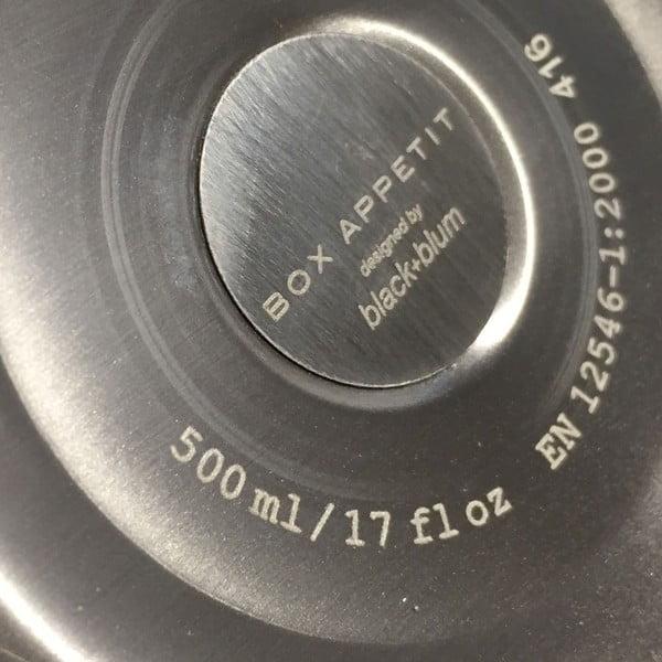 Nerezová termoska Black+Blum Wawy, 500 ml