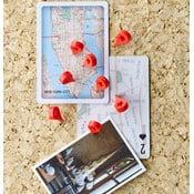 Sada 8 připínáčků Design Ideas MapMarker