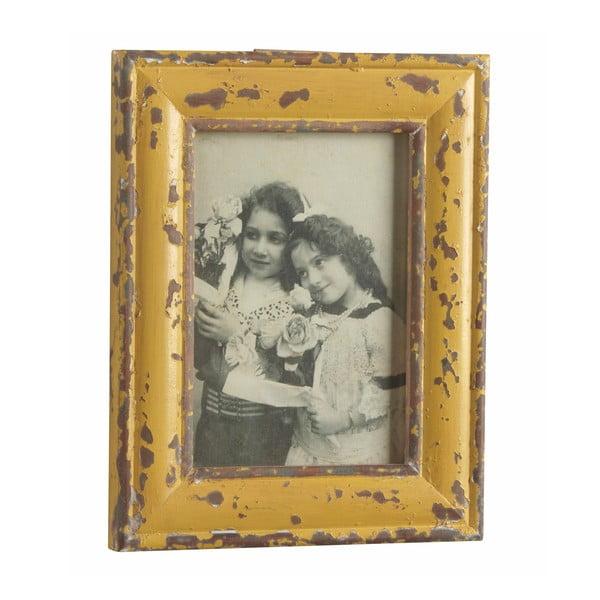 Fotorámeček Antique, žlutý