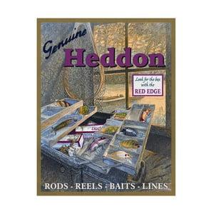 Plechová cedule Genuine Heddon