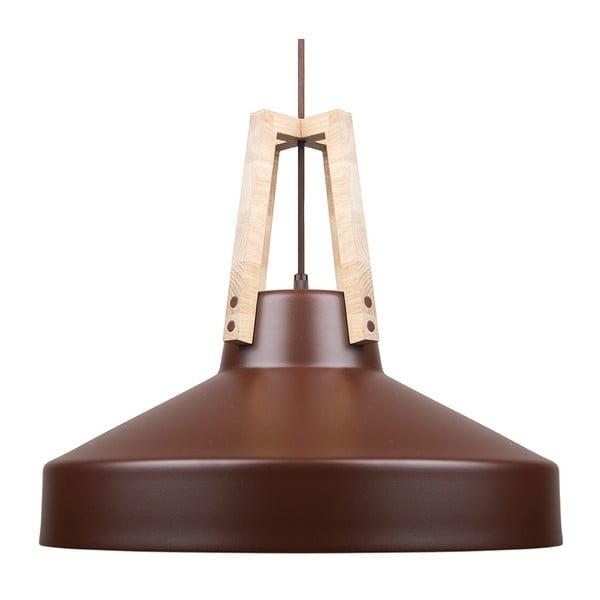 Hnědé stropní světlo Loft You Work, 44 cm