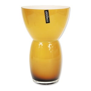 Skleněná váza Fornio, oranžová