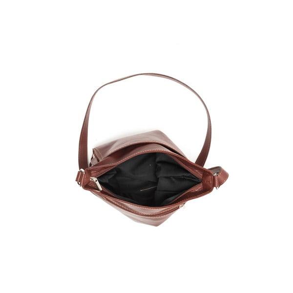 Kožená kabelka Renata Corsi 2066 Marrone