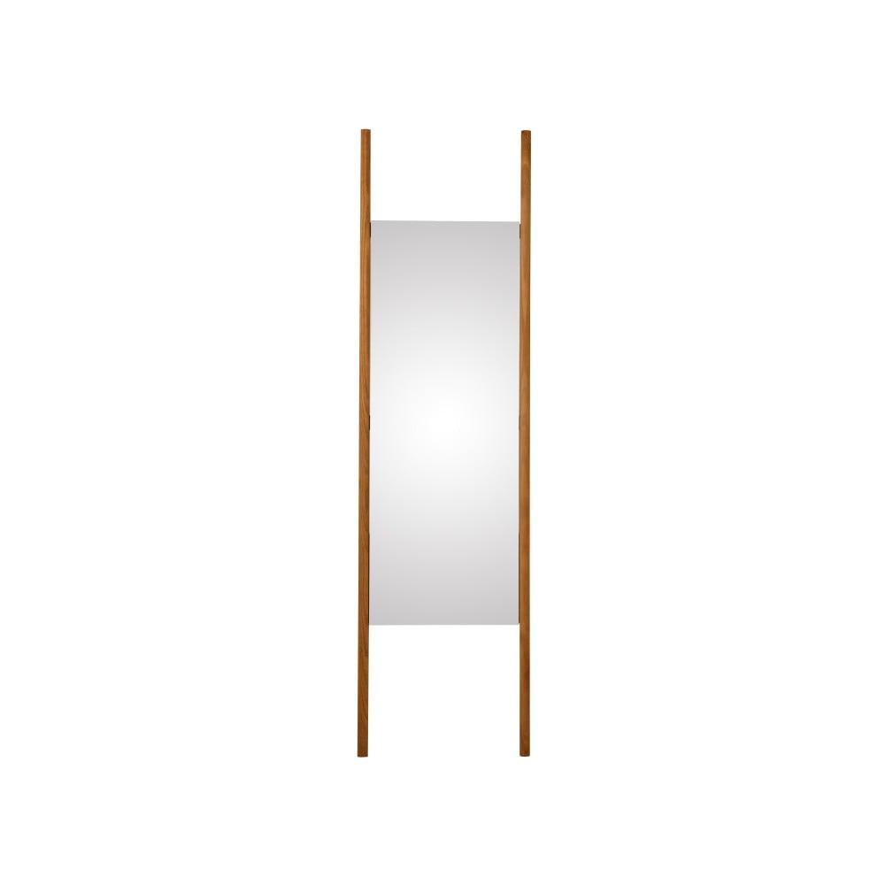 Nástěnné zrcadlo z masivního dubového dřeva Canett Uno, 46,6x170cm