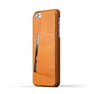 Peněženkový obal Mujjo na telefon iPhone 6 Plus Tan